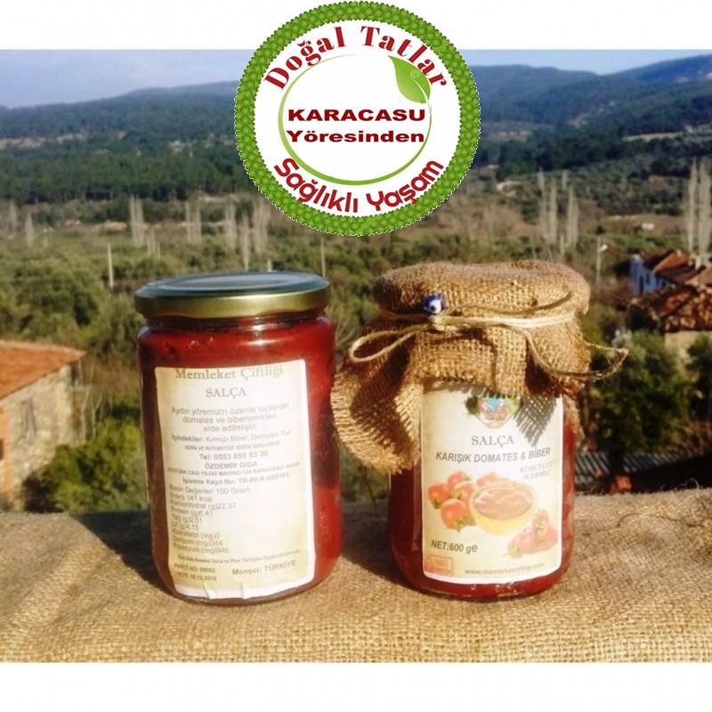 Doğal  Ev Salçası (Domates-Kırmızı Biber Karışık) 1 Kg