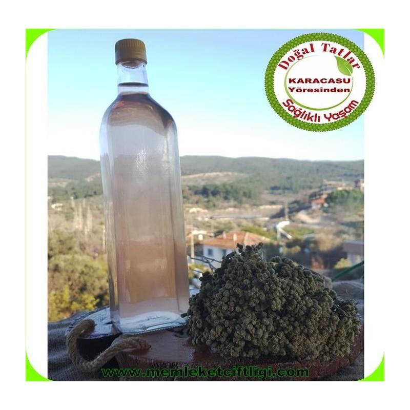 Doğal Dağ Kekik Suyu 1 Lt Cam Şişe (10 Adet )