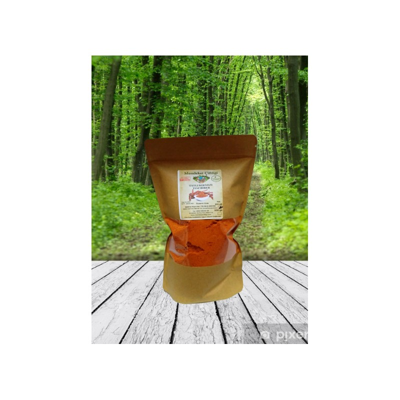 Doğal Toz Biber Tatlı 600 gr