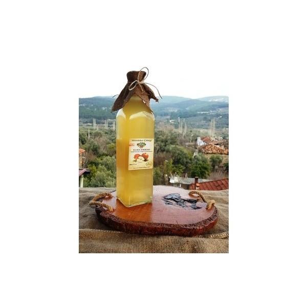 Doğal Fermente Elma Sirkesi 500 Ml (Cam Şişe)