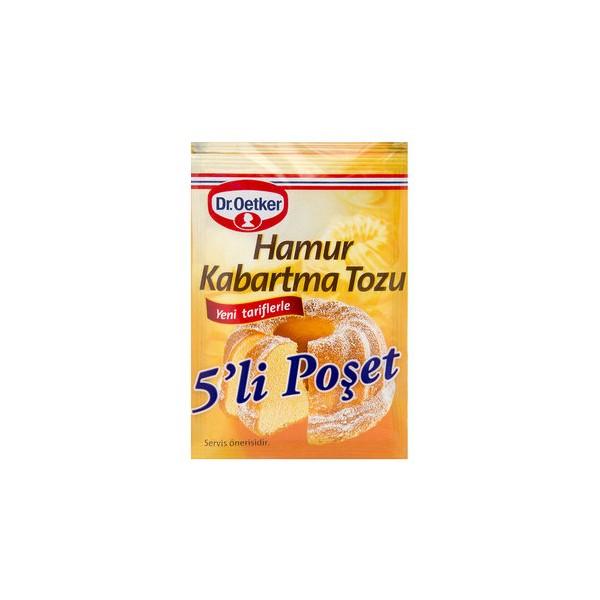 Dr.Oetker Kabartma Tozu 5'li ( Her Paket 10 Gr)