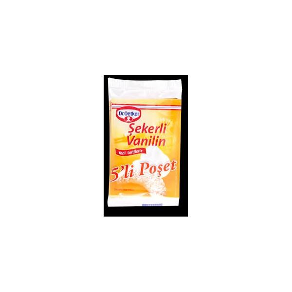 Dr Oetker Şekerli Vanilin 5'li Paket (5 gr )