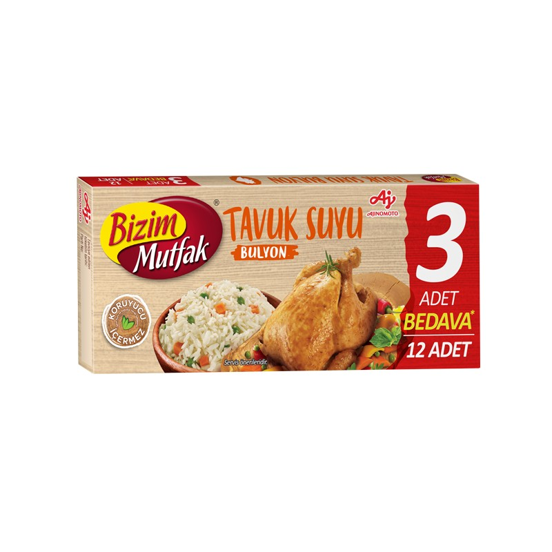 Tavuk Suyu Bulyon 12'li