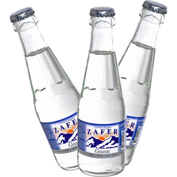 Zafer Sade Gazoz 200 ml (6 'lı Paket Cam Şişe )