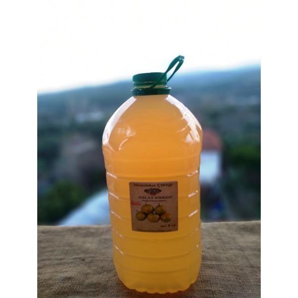 Doğal Fermente Elma Sirkesi 5 Lt (Pet Şişe)