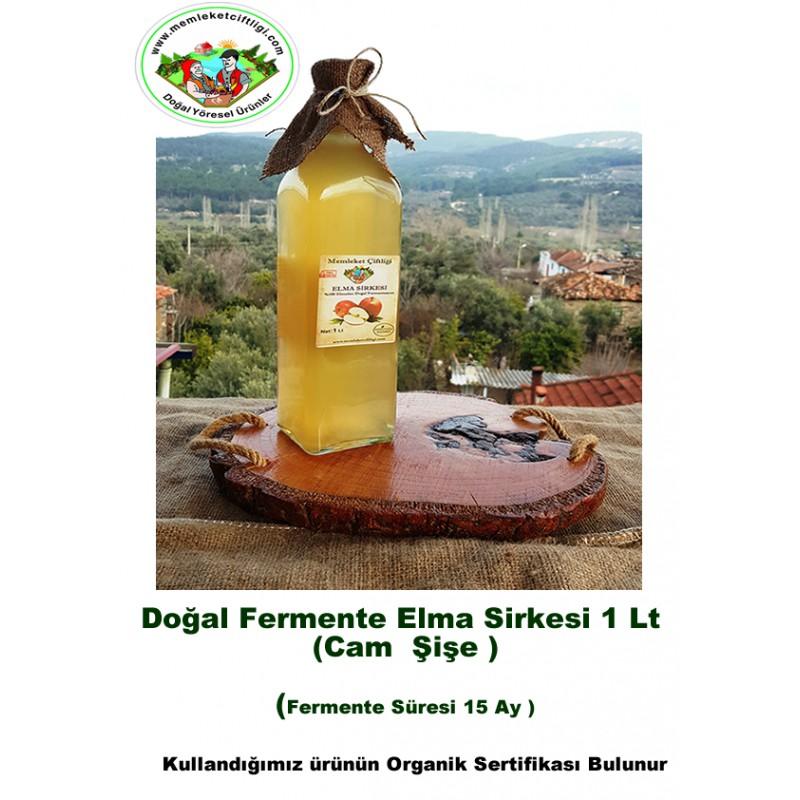 Doğal Fermente Elma Sirkesi 250 Ml (Cam Şişe)