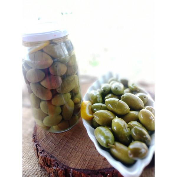 10 Adet Doğal Fermente Kamalata Zeytin 650 Gr Cam Kavanoz Bayi Paketi